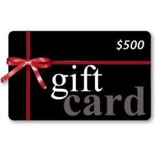 Gift Card - $500